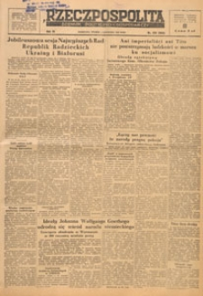 Rzeczpospolita i Dziennik Gospodarczy, 1949.11.10 nr 309