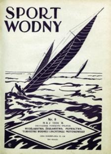 Sport Wodny, 1934, nr 8