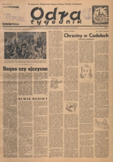 Odra : tygodnik, 1949.04.24 nr 14