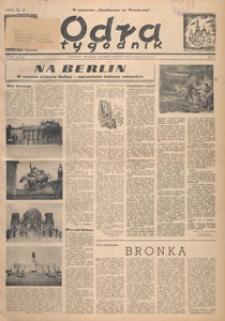 Odra : tygodnik, 1949.05.15 nr 17