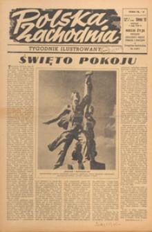 Polska Zachodnia : tygodnik : organ P.Z.Z., 1949.05.29 nr 21