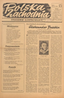 Polska Zachodnia : tygodnik : organ P.Z.Z., 1949.06.26 nr 25