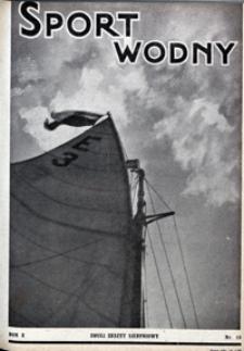 Sport Wodny, 1934, nr 15