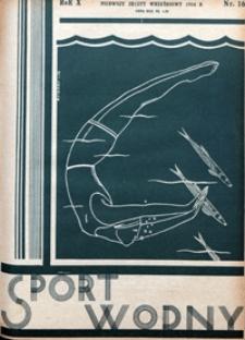 Sport Wodny, 1934, nr 16