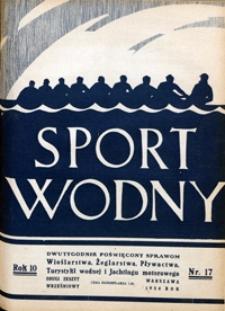 Sport Wodny, 1934, nr 17