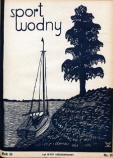 Sport Wodny, 1934, nr 19