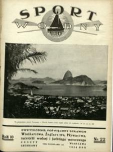 Sport Wodny, 1934, nr 22