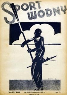 Sport Wodny, 1935, nr 5