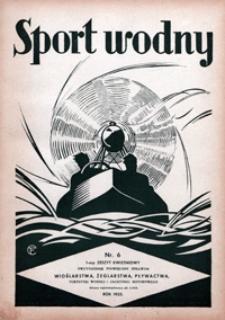 Sport Wodny, 1935, nr 6
