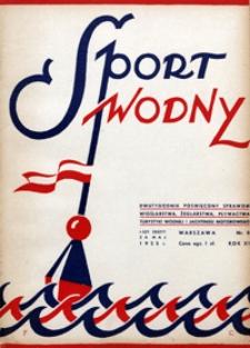 Sport Wodny, 1935, nr 8