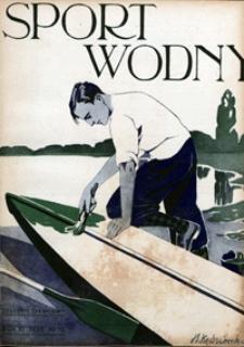 Sport Wodny, 1935, nr 10