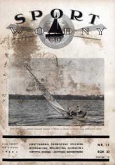 Sport Wodny, 1935, nr 12