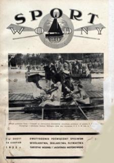 Sport Wodny, 1935, nr 15