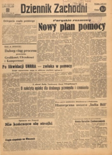 Dziennik Zachodni, 1947.07.07 nr 183