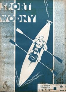 Sport Wodny, 1935, nr 16