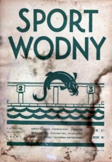 Sport Wodny, 1935, nr 21