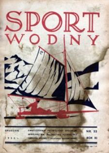 Sport Wodny, 1935, nr 22