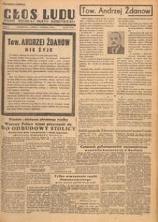 Głos Ludu : pismo codzienne Polskiej Partii Robotniczej, 1948.09.15 nr 255