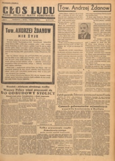 Głos Ludu : pismo codzienne Polskiej Partii Robotniczej, 1948.09.17 nr 257