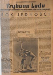 Trybuna Ludu : organ Komitetu Centralnego Polskiej Zjednoczonej Partii Robotniczej, 1949.01.22 nr 20