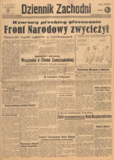 Dziennik Zachodni, 1948.06.06 nr 156