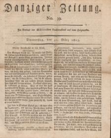 Danziger Zeitung, 1813.03.11 nr 39