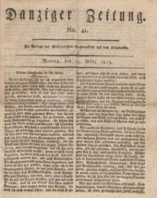 Danziger Zeitung, 1813.03.15 nr 41