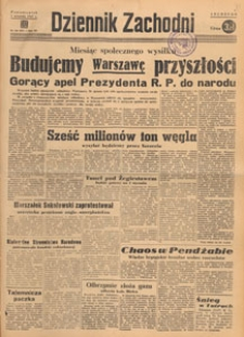 Dziennik Zachodni, 1947.09.20 nr 258