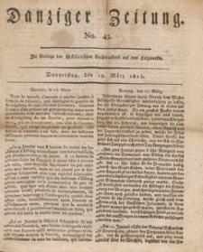 Danziger Zeitung, 1813.03.18 nr 43