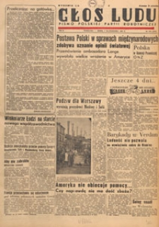 Głos Ludu : pismo codzienne Polskiej Partii Robotniczej, 1947.10.07 nr 276