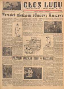 Głos Ludu : pismo codzienne Polskiej Partii Robotniczej, 1947.09.22 nr 261