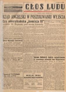 Głos Ludu : pismo codzienne Polskiej Partii Robotniczej, 1947.08.23 nr 231