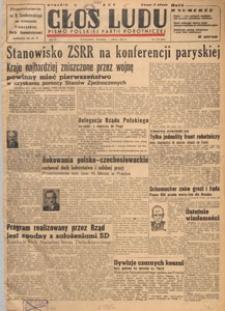 Głos Ludu : pismo codzienne Polskiej Partii Robotniczej, 1947.07.07 nr 184