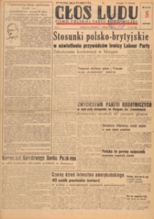 Głos Ludu : pismo codzienne Polskiej Partii Robotniczej, 1947.06.16 nr 162