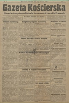 Gazeta Kościerska, 1935, nr1