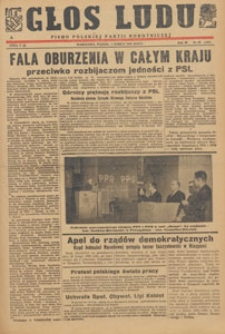 Głos Ludu : pismo codzienne Polskiej Partii Robotniczej, 1946.03.25 nr 84