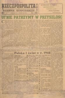 Rzeczpospolita i Dziennik Gospodarczy, 1949.01.10 nr 9