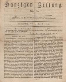 Danziger Zeitung, 1813.04.01 nr 51