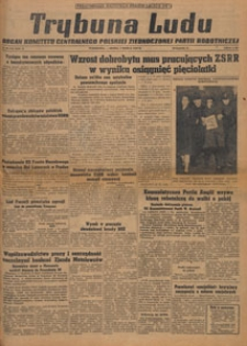 Trybuna Ludu : organ Komitetu Centralnego Polskiej Zjednoczonej Partii Robotniczej, 1949.03.25 nr 82