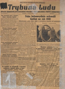 Trybuna Ludu : organ Komitetu Centralnego Polskiej Zjednoczonej Partii Robotniczej, 1949.04.06 nr 94