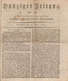 Danziger Zeitung, 1813.04.06 nr 54