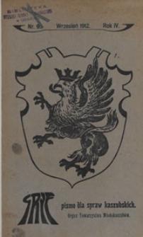 Gryf : pismo dla spraw kaszubskich, 1912.09 nr 9