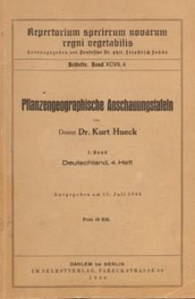 Repertorium Specierum Novarum Regni Vegetabilis : Beihefte, 1940 Bd 97 H. 4