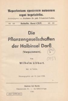 Repertorium Specierum Novarum Regni Vegetabilis : Beihefte, 1940 Bd 114