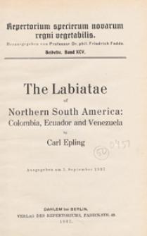 Repertorium Specierum Novarum Regni Vegetabilis : Beihefte, 1937 Bd 95
