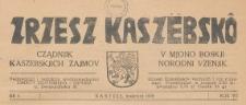 Zrzesz Kaszëbskô, 1939.04 nr 4
