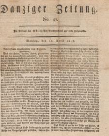 Danziger Zeitung, 1813.04.12 nr 57