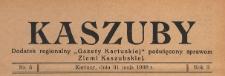 """Kaszuby : dodatek regjonalny """"Gazety Kartuskiej"""" poświęcony sprawom Ziemi Kaszubskiej, 1938.05.31 nr 5"""