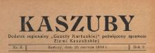 """Kaszuby : dodatek regjonalny """"Gazety Kartuskiej"""" poświęcony sprawom Ziemi Kaszubskiej, 1938.06.25 nr 6"""