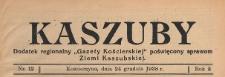 """Kaszuby : dodatek regjonalny """"Gazety Kartuskiej"""" poświęcony sprawom Ziemi Kaszubskiej, 1938.12.24 nr 12"""